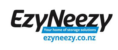 EzyNeezy Storage Solutions logo graphic