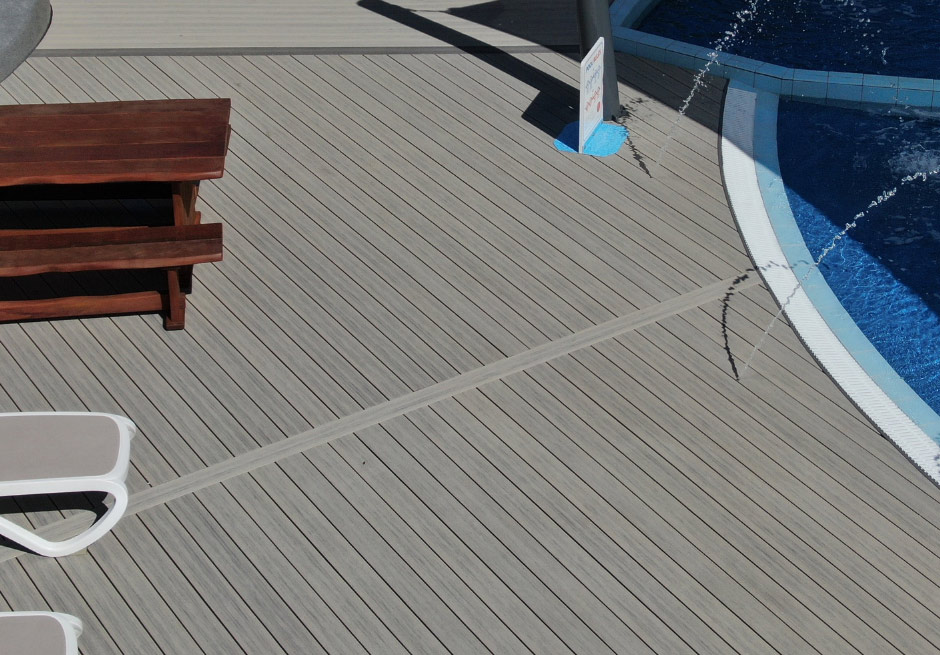 Mount Hot Pools new decking